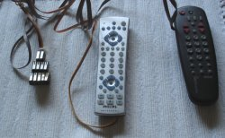 Remote controls with 11 button wiring harness